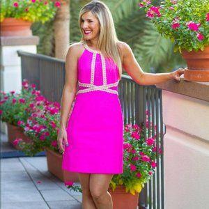 Lilly Pulitzer Layne Stretch Shift dress pink